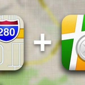 Apple maps «подружать» з яндекс.картами