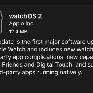Apple представила watchos 2