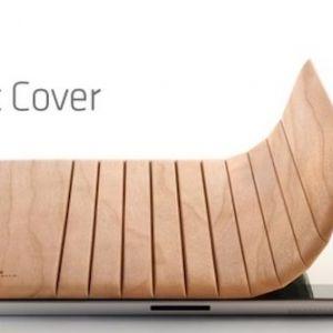 Атака клонів: miniot real wood cover для ipad 2