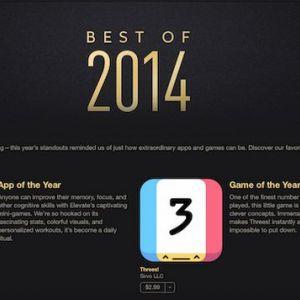 Найкраще в itunes store і app store за 2014 рік