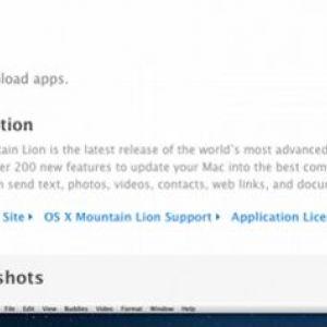 Mountain lion - вже в mac app store!