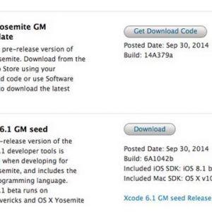 Os x yosemite оновилася до golden master і public beta 4
