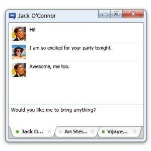 Вийшов facebook messenger для windows 7