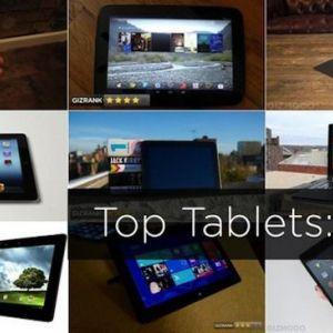 Top 10 планшетів 2012 року